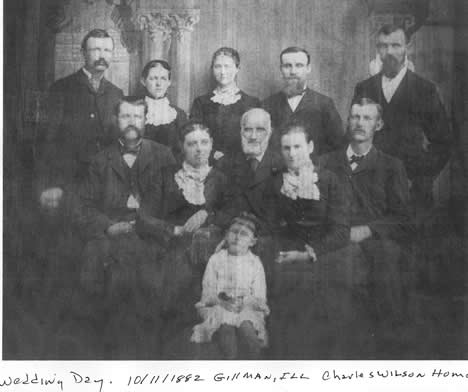 Wedding Picture - Ruth Lamira Wilson and George Colin Campbell
